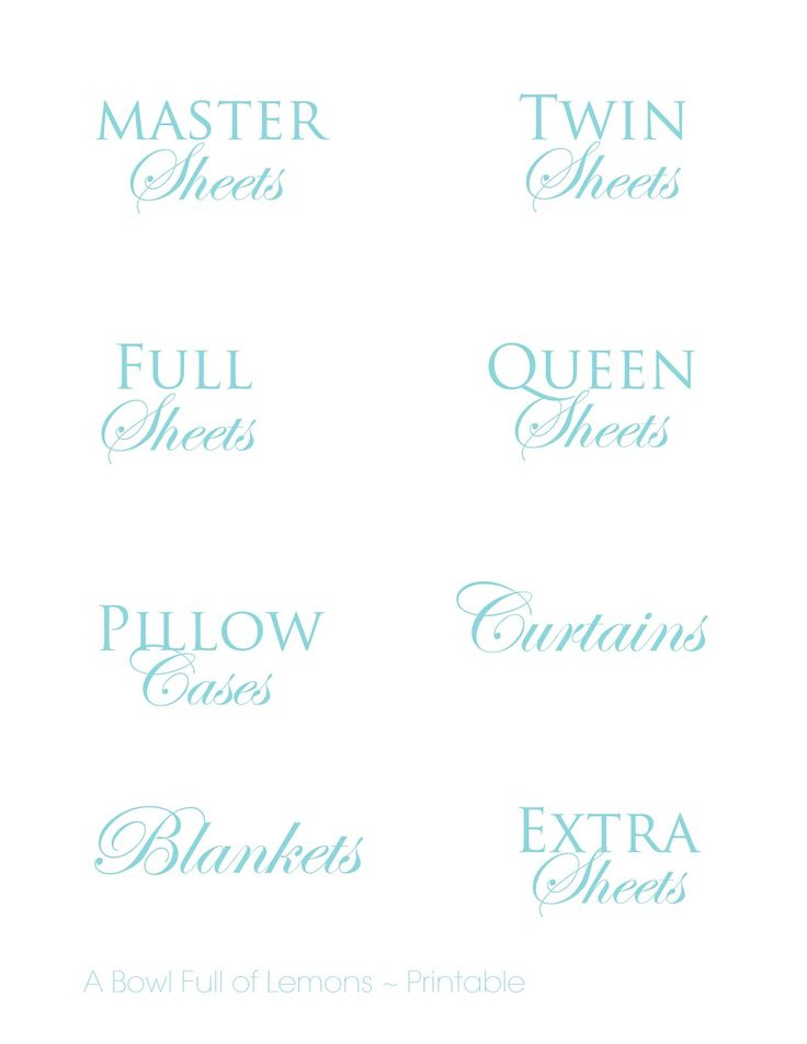 Free linen closet organization labels linenclosettags.jpg - Google Drive