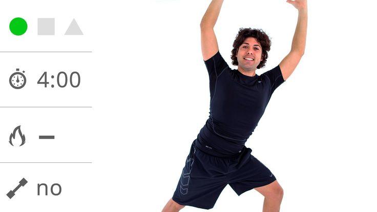 Ginnastica a basso impatto per il risveglio muscolare