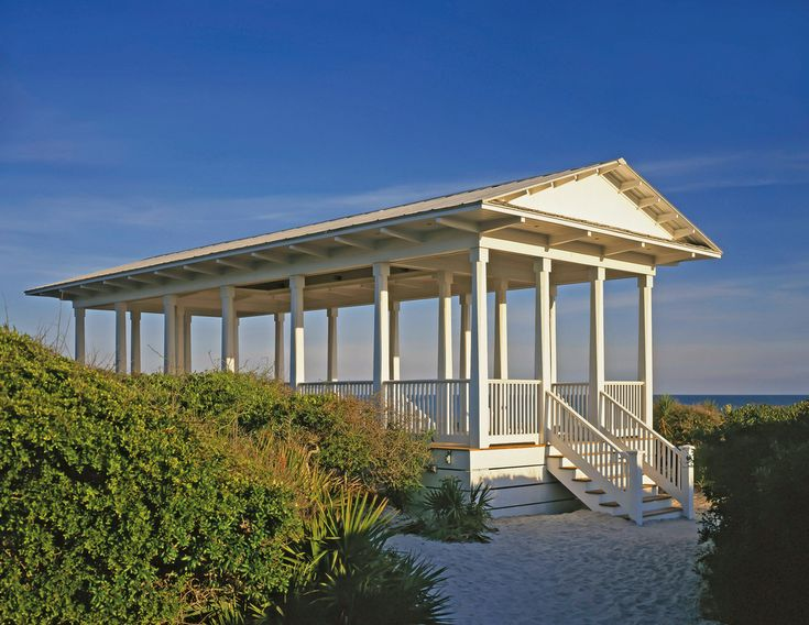 Seaside Pavilion in Seaside Florida | VIE Magazine: The Modern Minimalist Issue July/August 2016 | A Life Long Passion: Homes with Style and New Urban Values | Story by Sallie W. Boyles and Photography Courtesy of Eric Watson