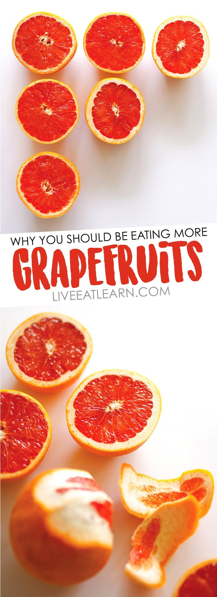 Everything you need to know about healthy grapefruit. Different varieties, how to select them, how to store them, and handy nutrition info!  // Live Eat Learn