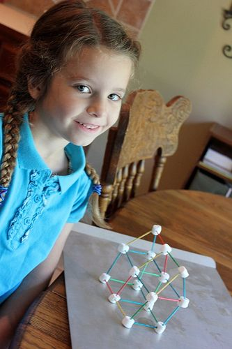 Marshmallow towers. For an added challenge use spaghetti instead of toothpicks. More Ideas here... http://www.partygameideas.com/kids-games/marshmallow_tower_1.php
