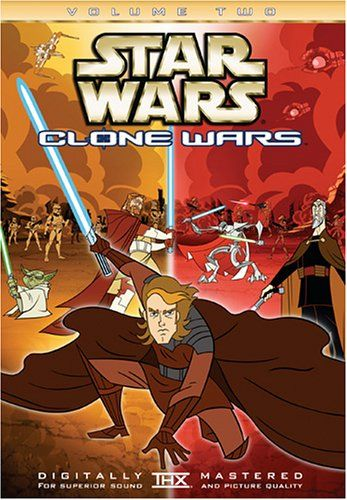 The Emmy Award-winning animated series continues with Star Wars: Clone Wars Volume Two, available for the first time on DVD. Directed by Genndy Tartakovsky, this series captures George Lucas' vision in a dynamic animated style that is a visual delight for all ages. As seen on Cartoon Network, Star Wars: Clone Wars Volume Two concludes the epic adventures that bridge the story between Star Wars: Episode II Attack of the Clones and Star Wars: Episode III Revenge of the Sith. Wi