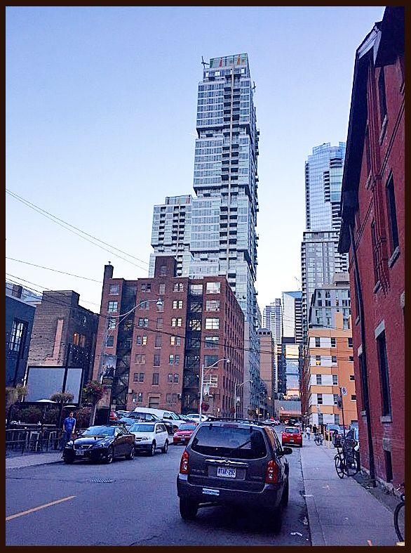 City streets, Toronto