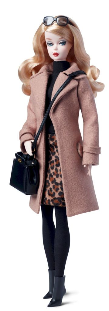Barbie Silkstone Trench Coat 2016