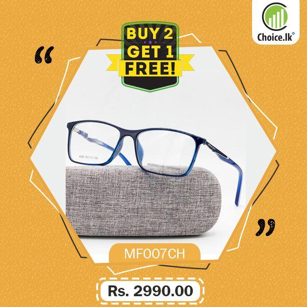 8e245412dad blue frame spectacles medical frames medical frame images spectacles images spectacles  price in Sri Lanka Rs. 2990
