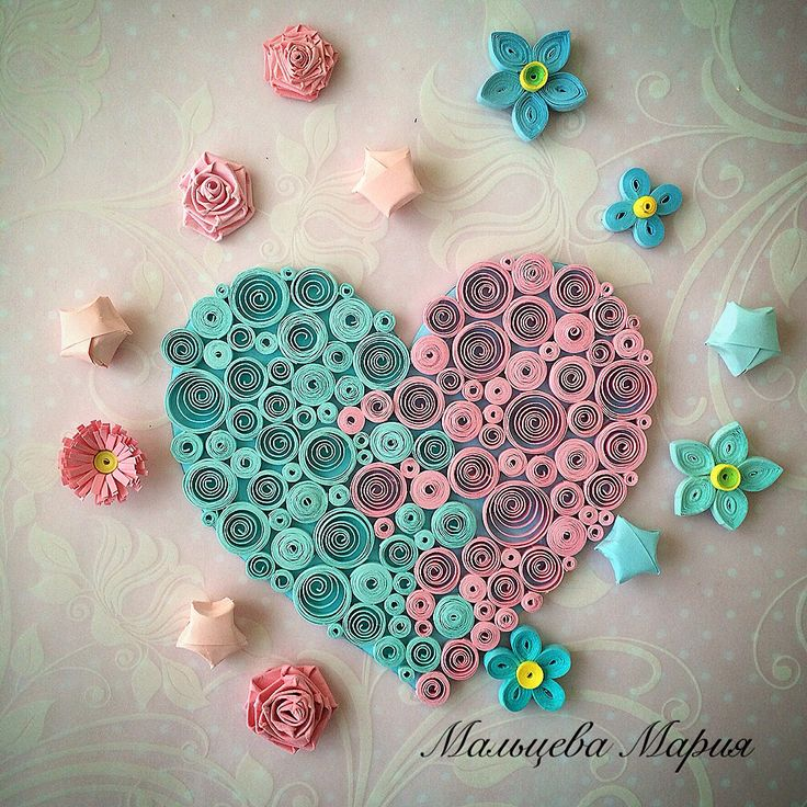 Love QuillingCard quilling heart