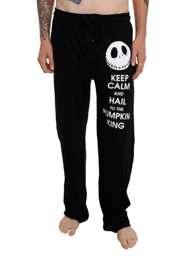 The Nightmare Before Christmas Keep Calm Men's Pajama Pants | Hot Topic