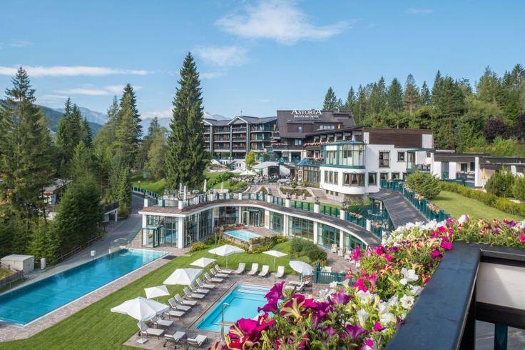 5 Sterne Superior Hotel Seefeld: Werfen Sie einen Blick auf die Impressionen aus dem Astoria Resort und freuen Sie sich jetzt schon auf Ihren Urlaub in Tirol.