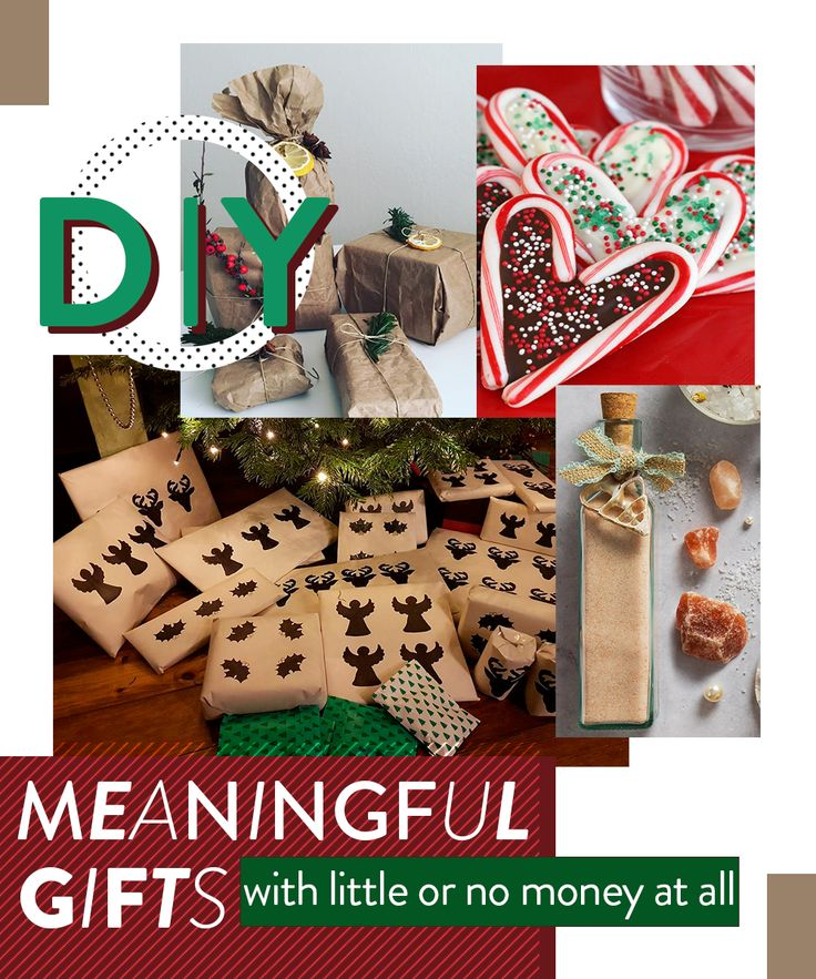 DIY Easy and cheap christmas gifts