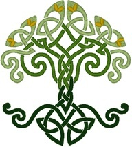 celtic dara knot the name dara comes from doire the irish word for oak tree the knotwork. Black Bedroom Furniture Sets. Home Design Ideas