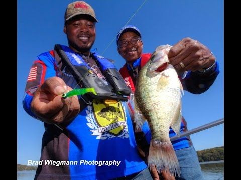 Crappie fishing video by Brad Wiegmann Photography