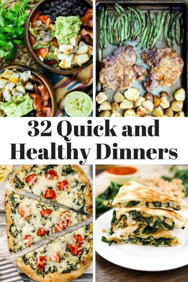32 Quick And Healthy Dinners For Back To School Yummy Goodness