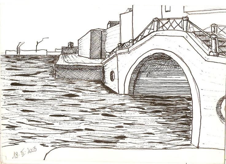 Ponte di Venezia - Zattere - mdm