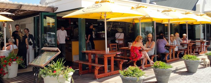 Tapas Hermanus Always exudes a chilled atmosphere, great food, friendly service and really cool music. I Love this place!