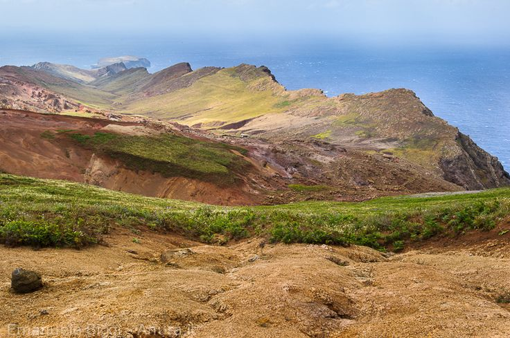 Possible Remnants of Atlantis. No doubt this island suffered very powerful earthquake activity.  Castanheira valley, Deserta Grande (Madeira, Portugal)