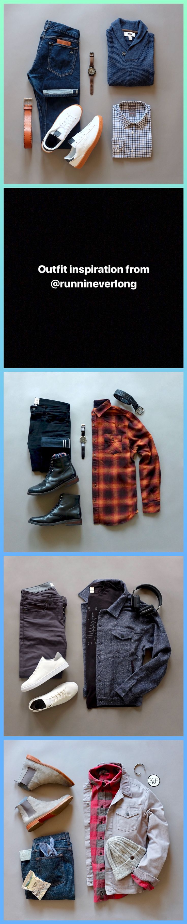 Casual outfit inspiration from @runnineverlong  #flannel #casual #outfits #menswear