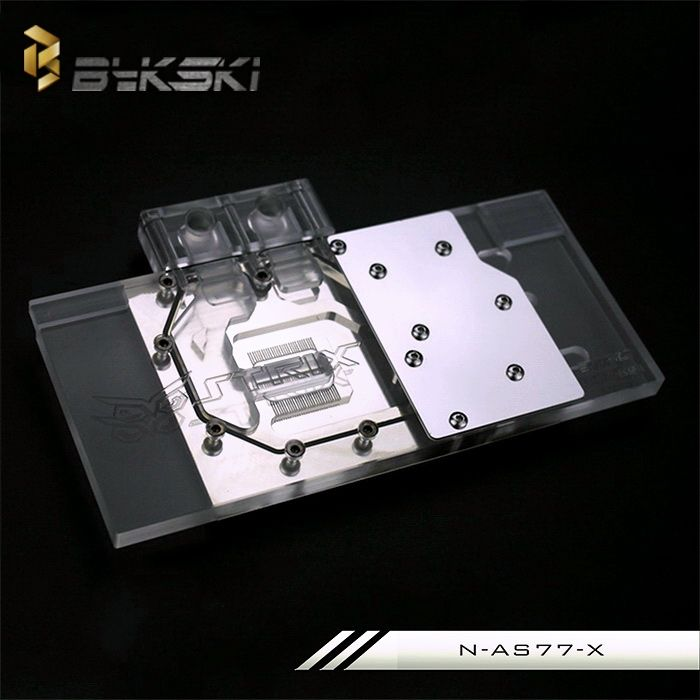 75$  Watch more here - Bykski N-AS77-X for ASUS GTX680 GTX770 VGA Water Cooling Block   #aliexpress