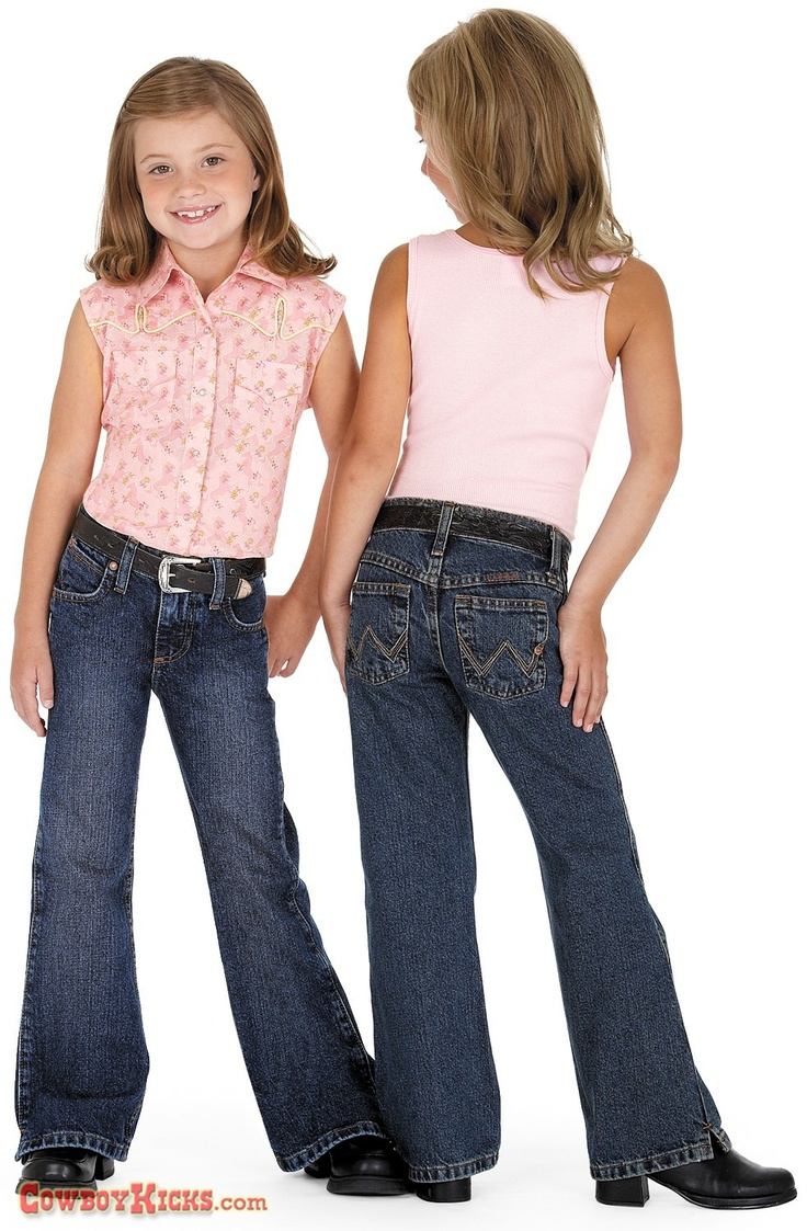 Wrangler Girls Ultimate Riding Jean $24.95 | Gift Ideas Under $25 for Kids | Pinterest | Girls ...