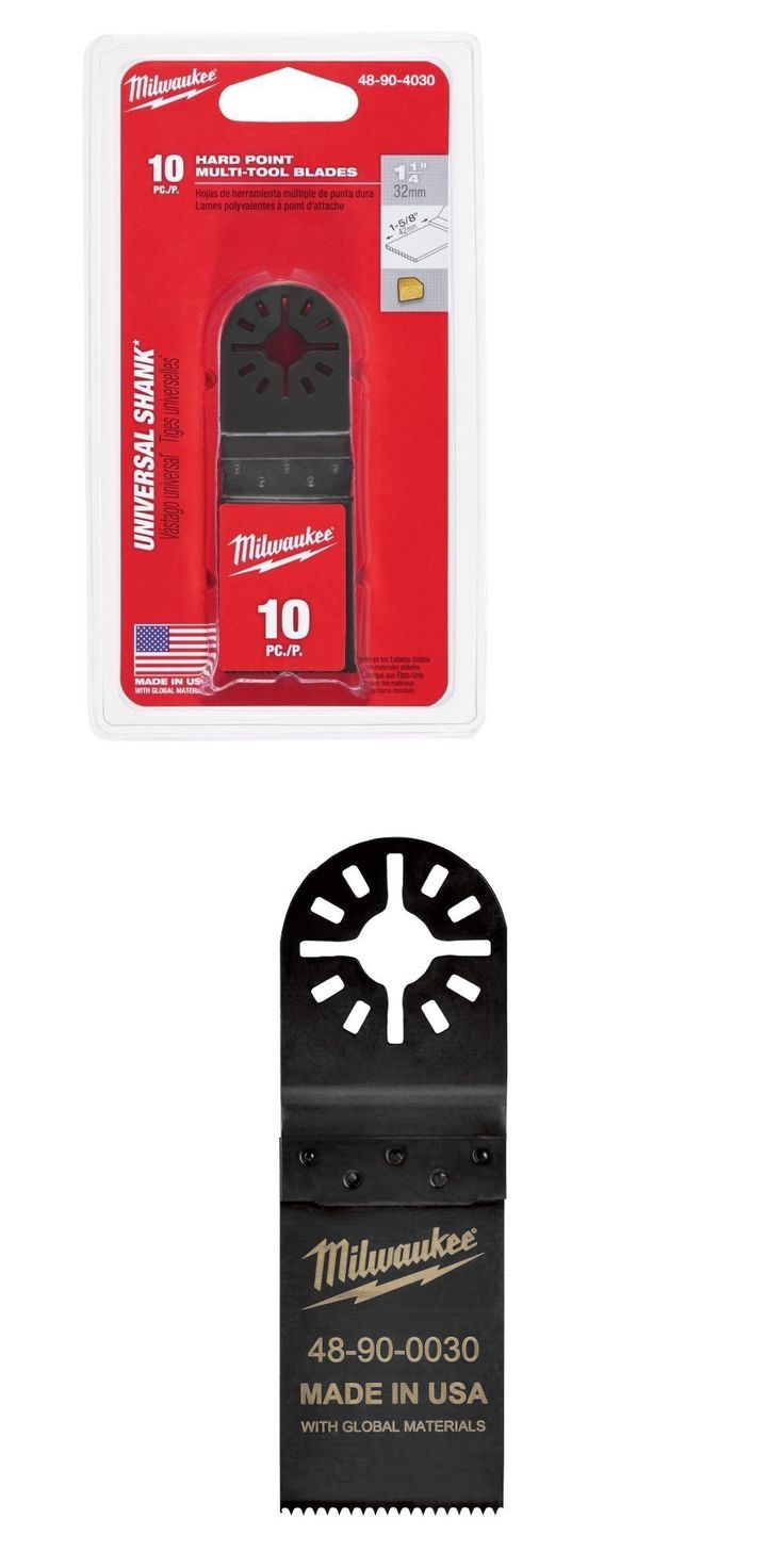 Finishing and Detail Sanders 43594: Milwaukee 48-90-4030 Hard Point Multi-Tool Blade 1-1 4 In. 10 Pack -> BUY IT NOW ONLY: $79.99 on eBay!