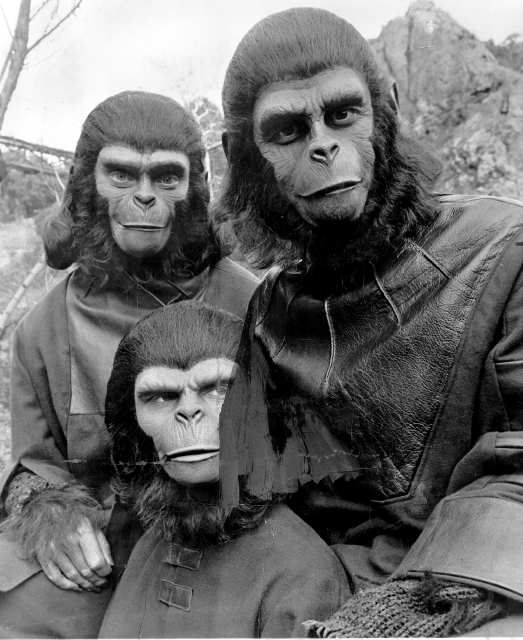 Original Planet of the Apes - scared of them back in the day