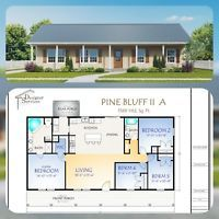 Details about Custom Small House Home Building Plans 2 bed Narrow 784sf— PDF file – House floor plans