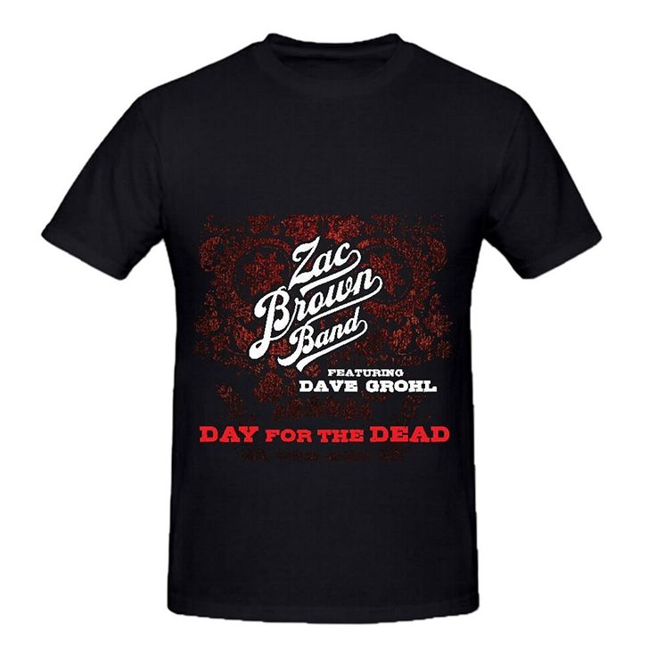 >> Click to Buy << GILDAN Zac Brown Band Day For The Dead Mens Crew Neck Tee Shirts World Tour 2016 #Affiliate