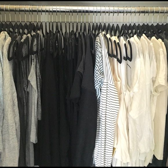 • MEET YOUR POSHER • Hi!! I'm Alyssa! I honestly can't fit any more hangers in my closet (neatly) so I'm looking to get rid of a lot of stuff that's in good condition, but just doesn't suit me anymore! I love neutrals, and some of my favorite brands are Madewell, Lou & Grey, and Rebecca Minkoff and love shoe brands like Dolce Vita and Steve Madden! Please feel free to make reasonable offers! All prices ARE NEGOTIABLE! no trades please! thanks for stopping by my closet!!!!! Other