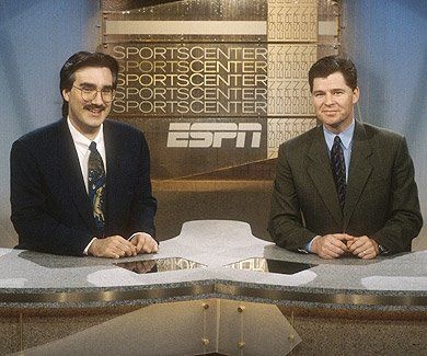 Best Sportscenter team of all-time! I had an unhealthy addiction and would watch the very same episode over-and-over again (practically reciting the show in the process).Athlone Sports, Sportscenter Team, Dan Patricks, All Tim, Sportscenter Anchors, 90S Sportscenter, Keith Olbermann