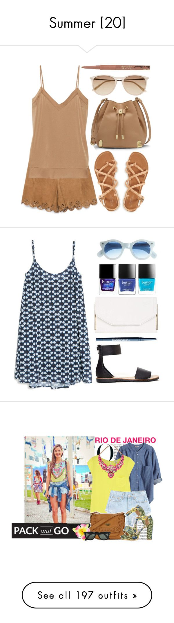 """Summer [20]"" by gdavilla ❤ liked on Polyvore featuring Zara, By Malene Birger, Witchery, Vince Camuto, Too Faced Cosmetics, Aéropostale, topsets, suede, chocolate and sunnies"
