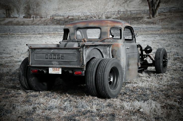 48 Dodge dually rat rod truck