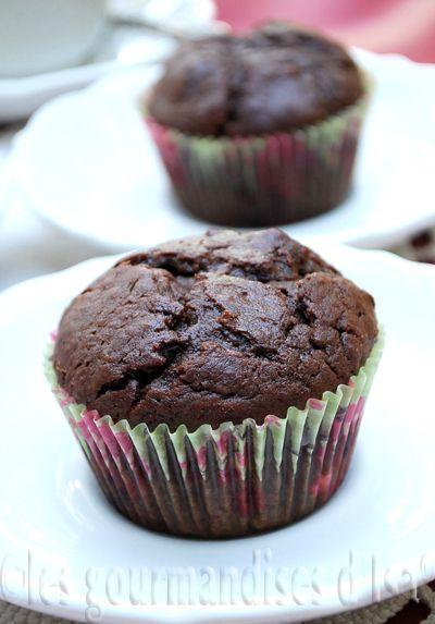 muffins au yogourt et au chocolat