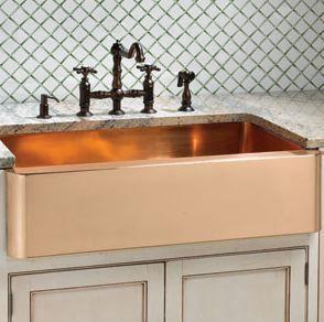 Ann Sacks copper Seus sink. I like the colour.