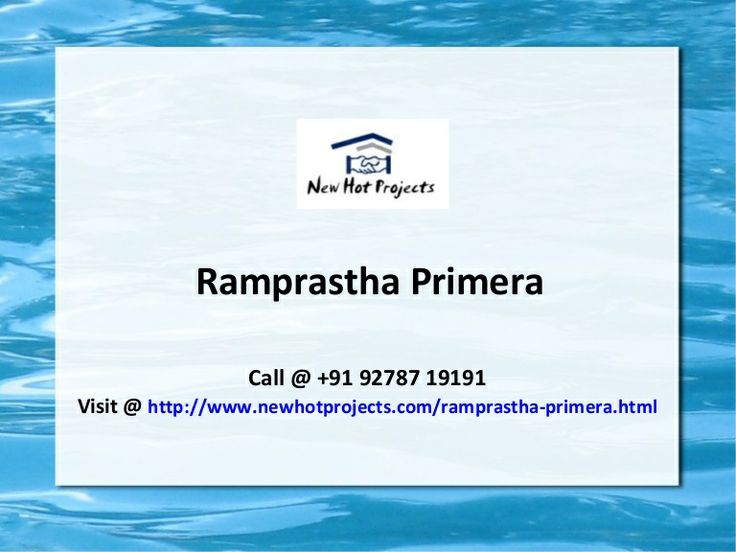 Ramprastha group is launched a new township named as Ramprastha Primera in Sector 37D, Gurgaon. Ramprastha Primera offers 3 BHK luxury apartments with different sizes as well as world class amenities at discounted price. For more details contact us.