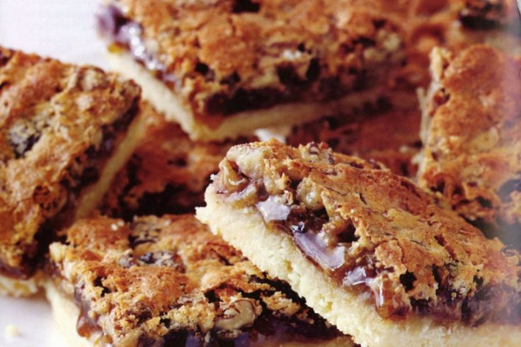 Butter tart squares offer all the goodness of butter tarts without having to make pastry.