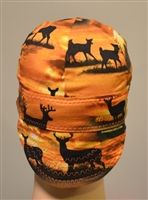 deer at dawn welding cap or hat