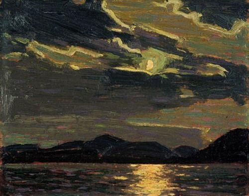"Hot Summer Moonlight, Thomas John ""Tom"" Thomson (August 5, 1877 – July 8, 1917)"