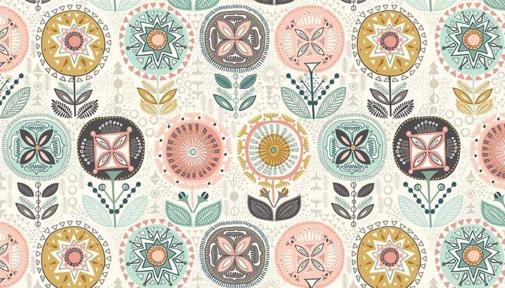Patchwork anyag - Makower - Sophia 1541/Q - Art-Export webáruház