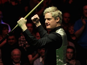 The first round of snooker