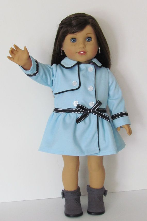 American Girl Grace Thomas Inspired Blue Coat Coats