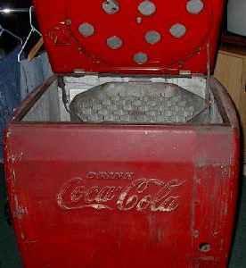 Classic Coca Cola vending machine - late 40's