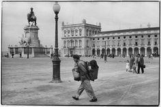 Lisboa - Terreiro do Paço 1955 Fotografia de Henri Cartier-Bresson - PORTUGAL