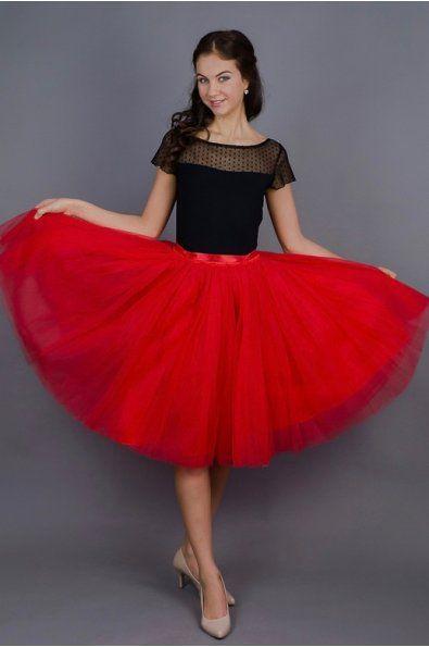 TUTU sukně červená tylová spodní neprůhledná vrstva ze saténu 3 vrstvy pevnějšího tylu pro požadovaný objem vrchní 2 vrstvy z jemného tylu příjemného na dotek www.miabella.cz