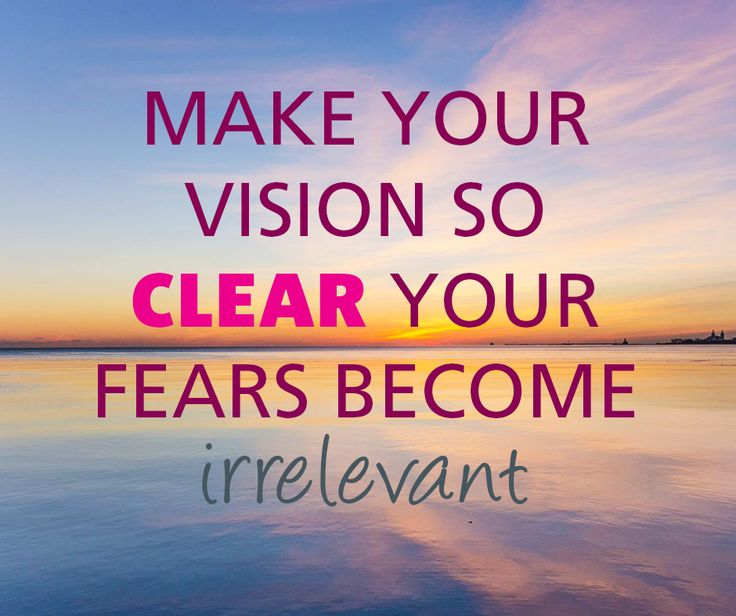 #MotivationalMonday Let nothing get in the way of your #vision #motivational