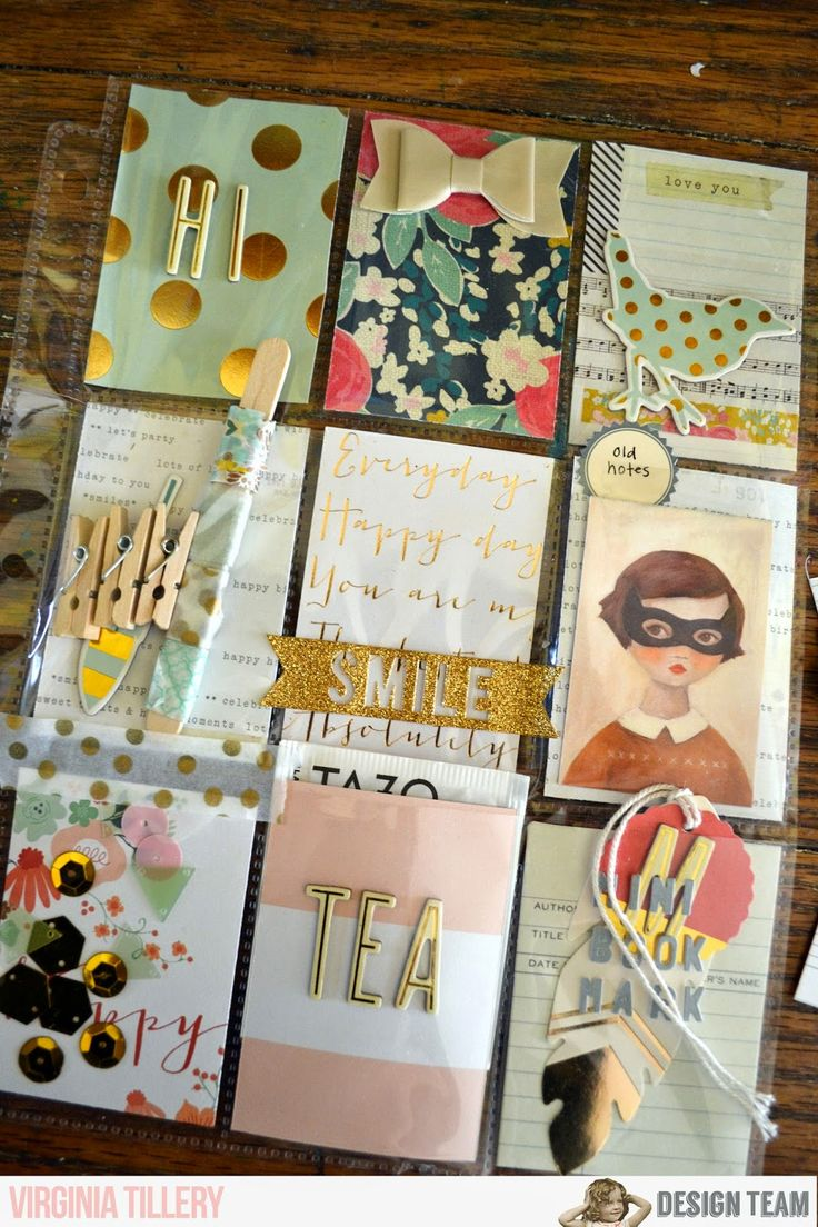 How to scrapbook letters - Noelmignon Com Layouts And Projects Pocket Letters Grid Scrapbook Mailart Snailmail