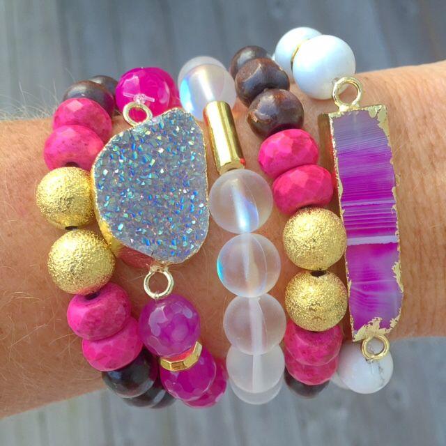 Love the druzy bracelet