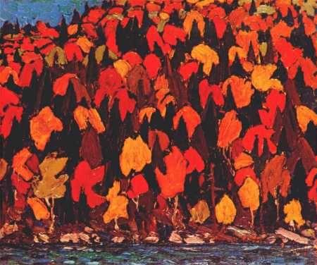 Autumn Foliage, Tom Thompson