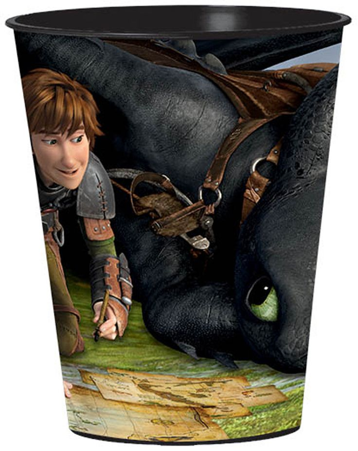 How to Train Your Dragon 2 - 16 oz. Plastic Cup Includes: (1) themed 16 oz. plastic cup. This is an officially licensed How toTrain Your Dragon 2 - product. Weight (lbs) 0.3 Length (inches) 3.5 Width