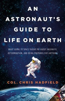"""""""Chris Hadfield was selected by the Canadian Space Agency to be an astronaut in 1992. He was Chief of Robotics at the Johnson Space Center in Houston from 2003-2006, and in March 2013, he became the first Canadian Commander of the International Space Station."""""""