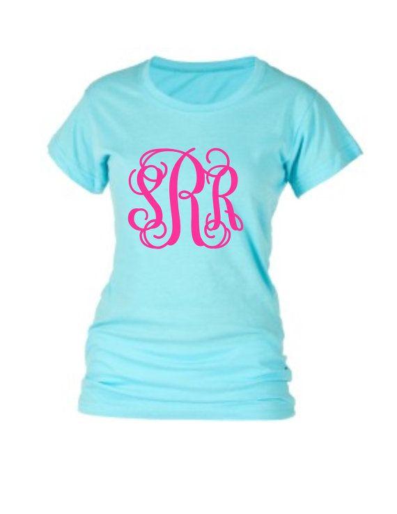 monogrammed tee shirt glitter monogram t shirt short