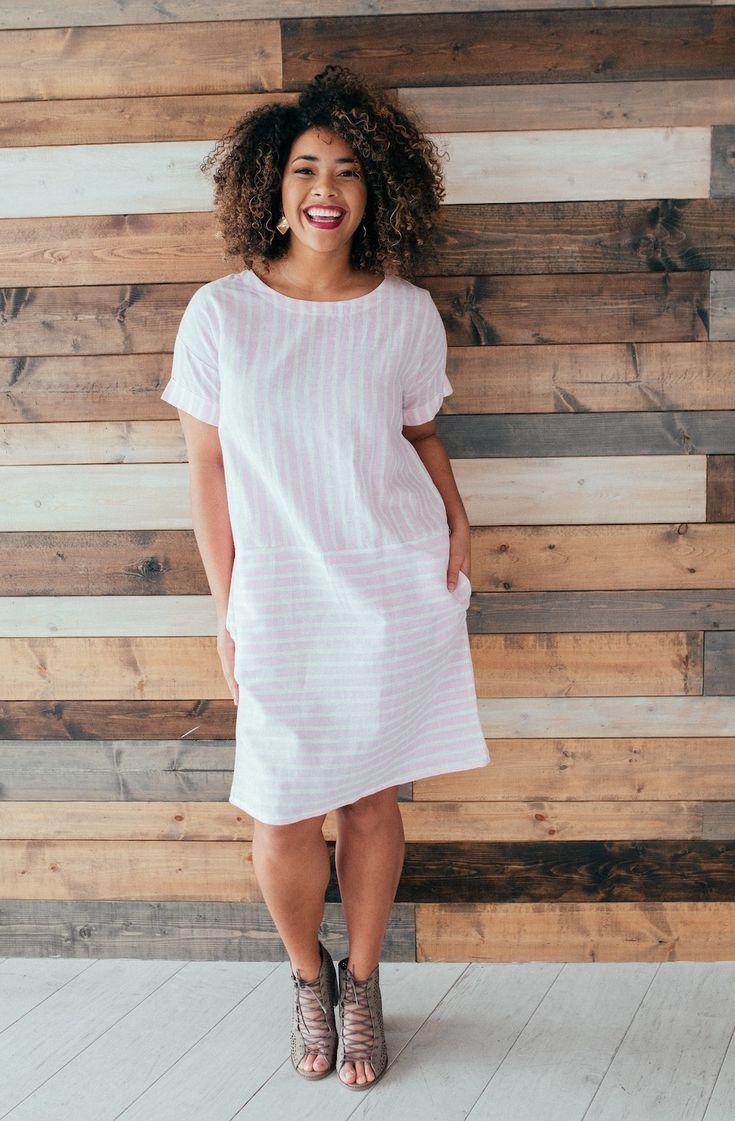 Lulu Striped Dress | Brickyard Buffalo | Daily Boutique